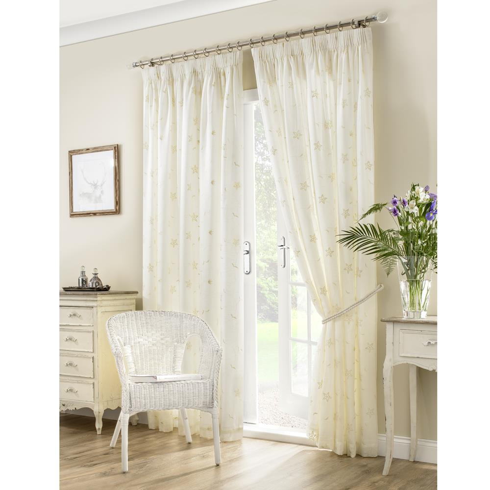 Seville Readymade Sheer Curtains Glasswells