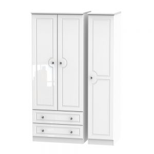 Boston Triple 2 Drawer Robe
