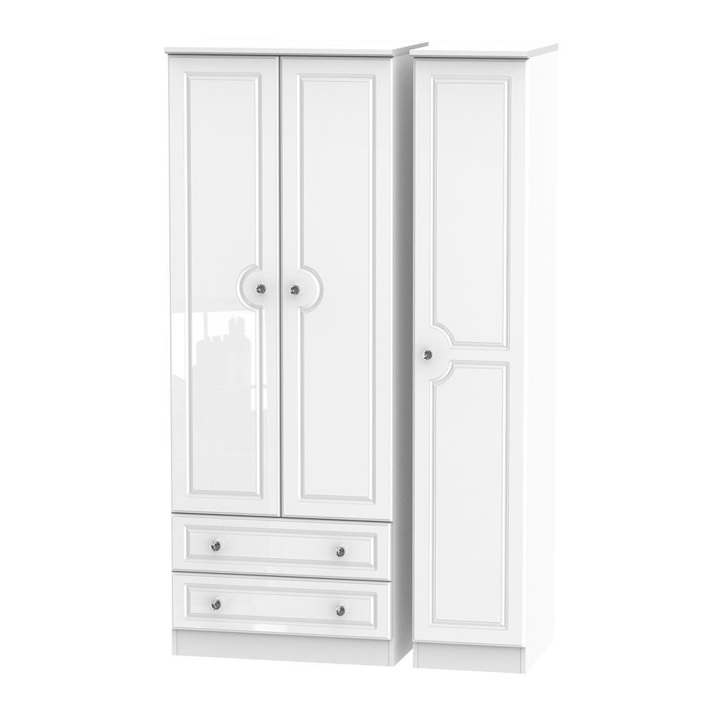 Boston Tall Triple 2 Drawer Robe