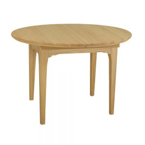 Stag New England 110 x 150cm Round Dining Table