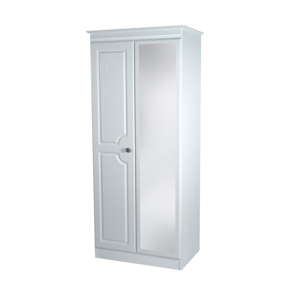 Portland Tall 2ft 6in Mirror Robe