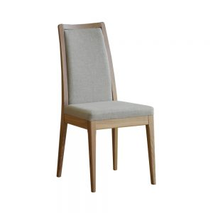 Ercol Romana Padded Back Dining Chair – L Range Fabric