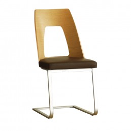 Ercol Romana Cantilevered Dining Chair – L Range Fabric