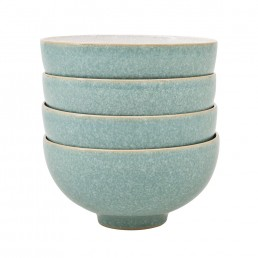 Denby Elements Rice Bowl Set Green