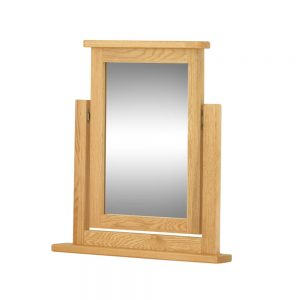 Pemberley Swing Mirror – Oak