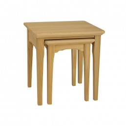Stag New England Nest of 2 Tables