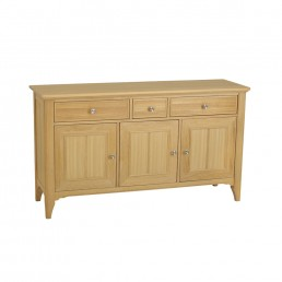 Stag New England Wide 3 Door Sideboard