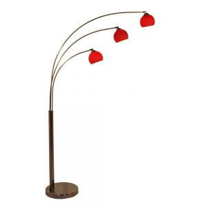 Danalight Bubble 3 Light Floor Lamp Red