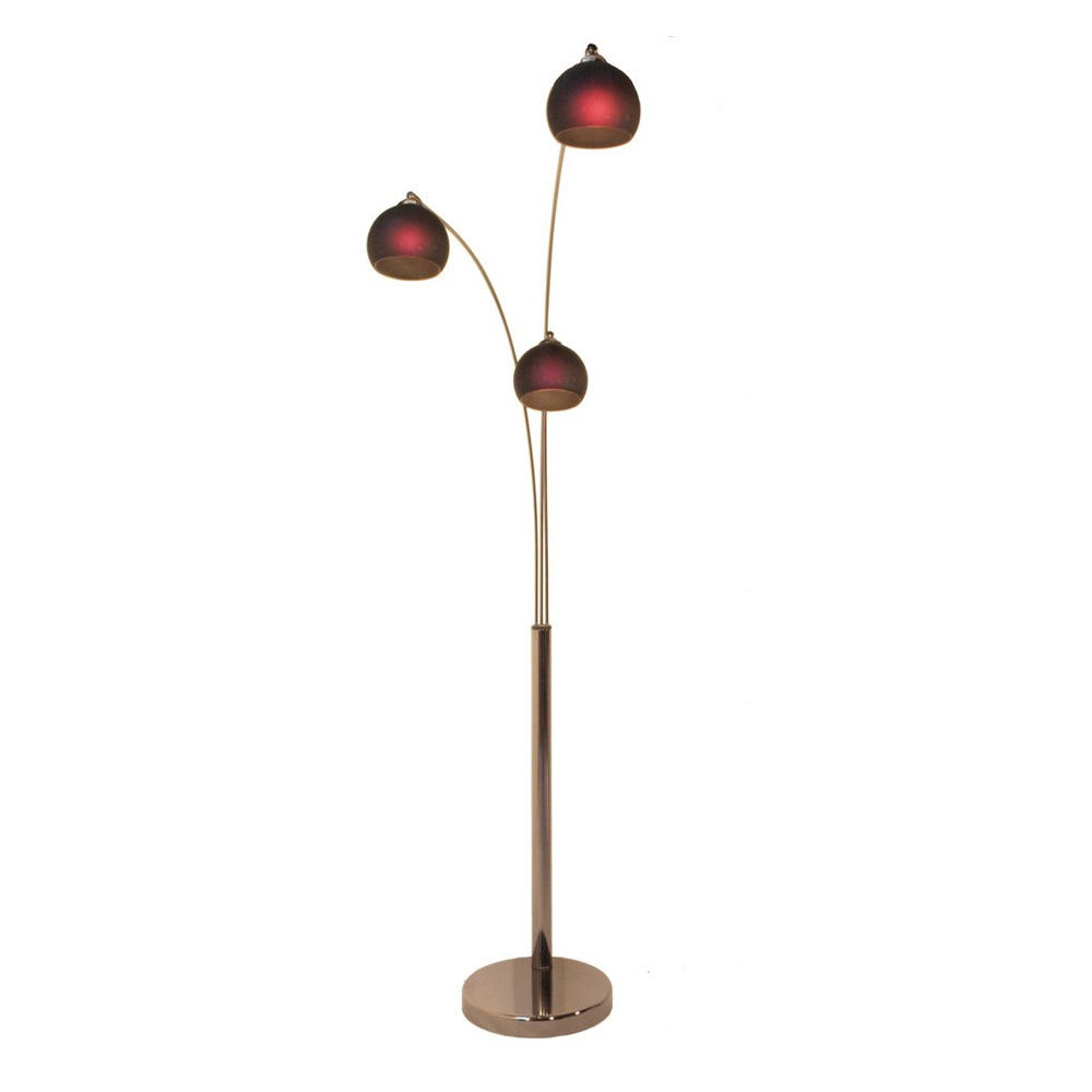 Danalight Bubble 3 Light Floor Lamp Purple