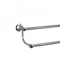 Metro Double Towel Rail