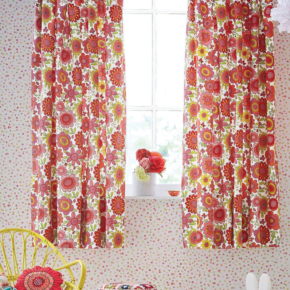 Scion Kids Bloomin Lovely Curtains