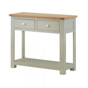 Pemberley 2 Drawer Console Table Stone