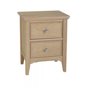 Stag New England Bedside Chest of 2 Drawers