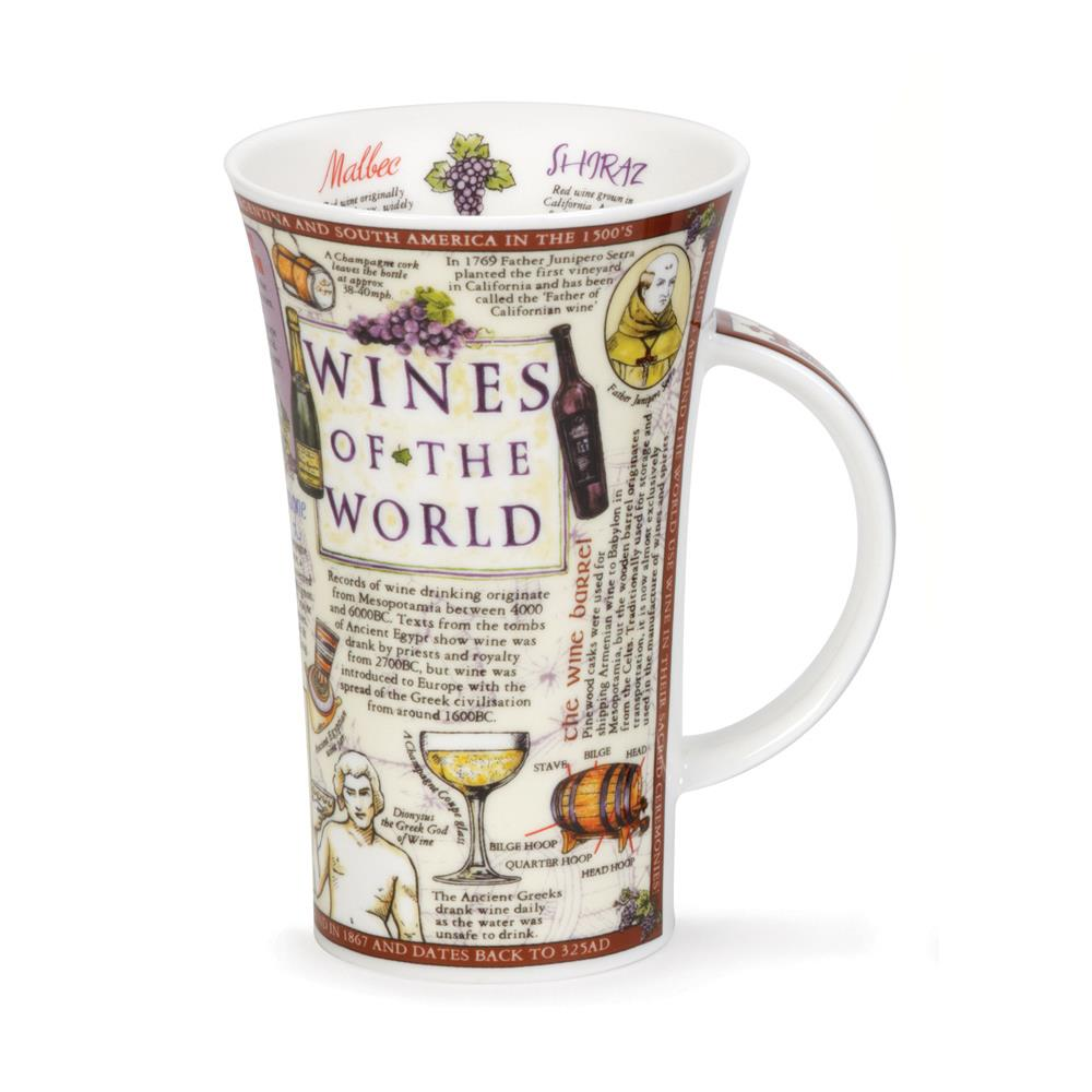 Dunoon Wines Of The World Mug