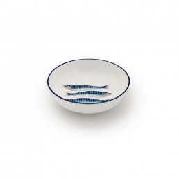 Harlequin Small Dipping Bowl Blue