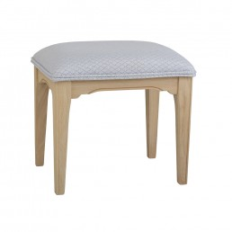 Stag New England Bedroom Stool – Fabric Seat