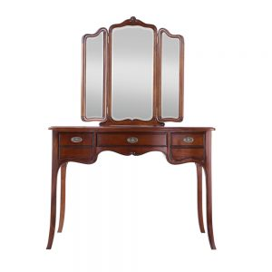 Octavia Dressing Table With Triple Mirror