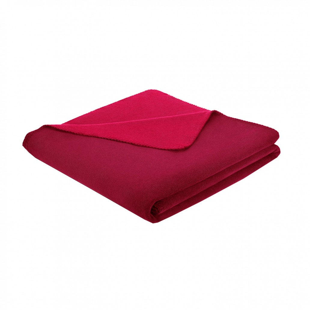 Biederlack Thermosoft Throw Red