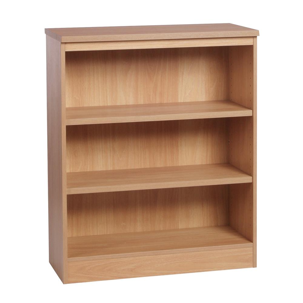 Home Office Mid Height Bookcase 85cm Wide