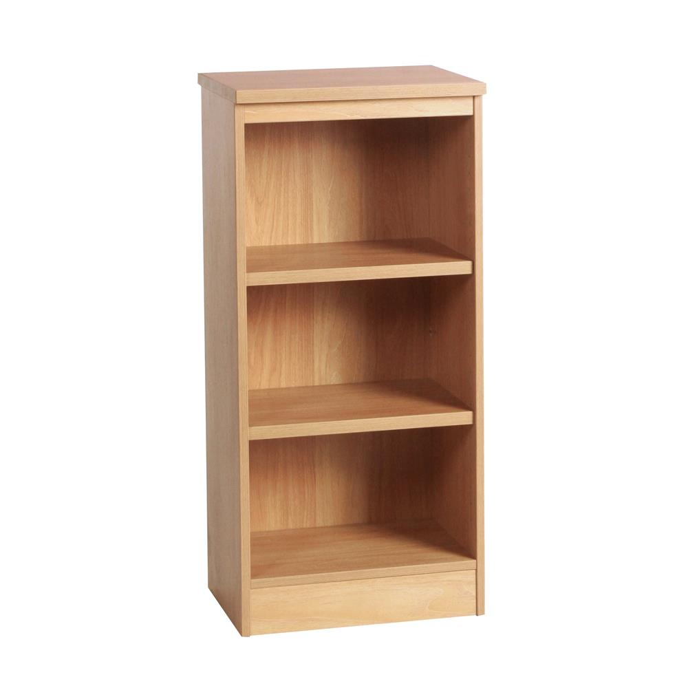 Home Office Mid Height Bookcase 48cm Wide