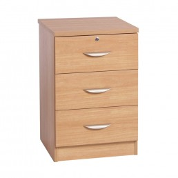 Home Office 3 Drawer CD/DVD Storage Unit
