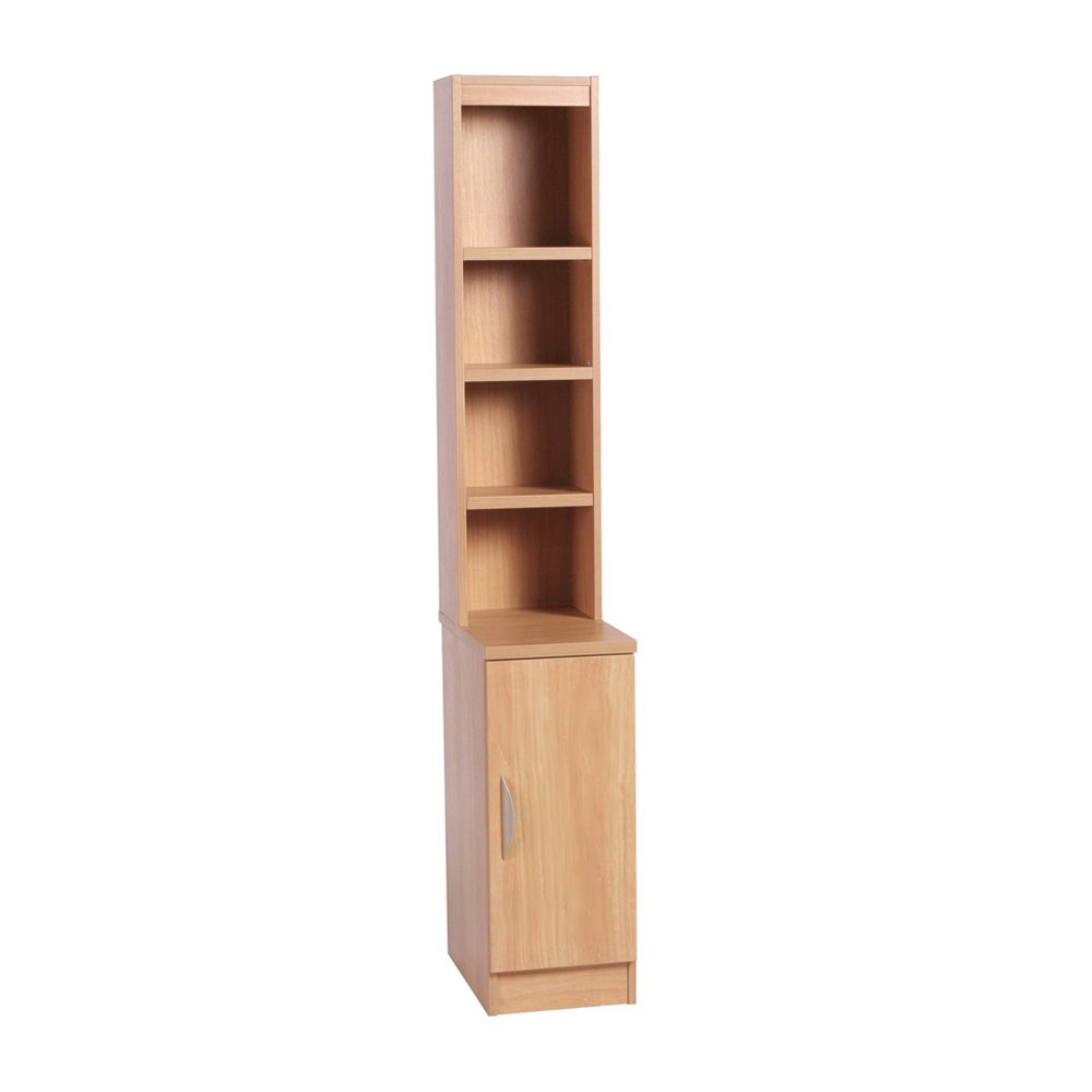 Home Office Desk Height Cupboard 30cm Wide With Hutch