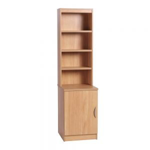Home Office Desk Height Cupboard 48cm Wide With Hutch