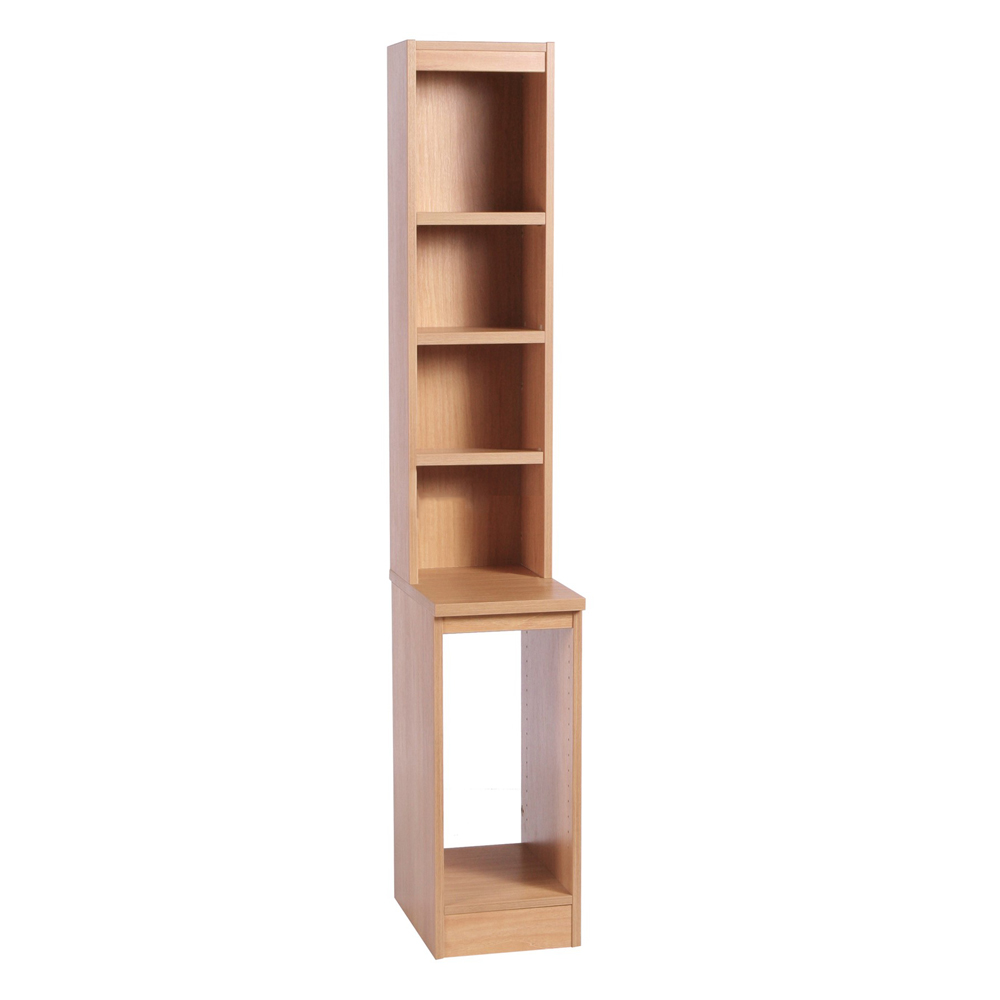 Home Office Computer Tower Storage With Hutch