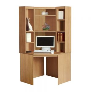 Home Office Corner Desk With Hutch