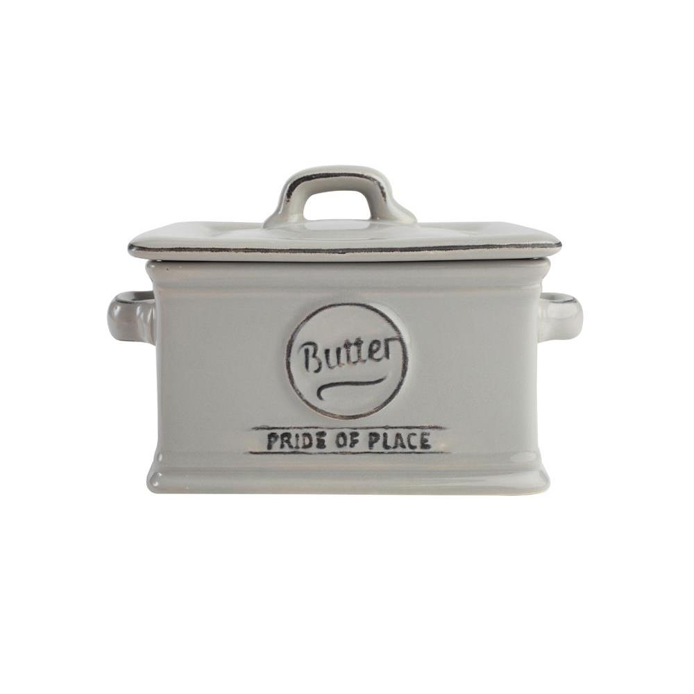 Pride Of Place Butter Dish Grey