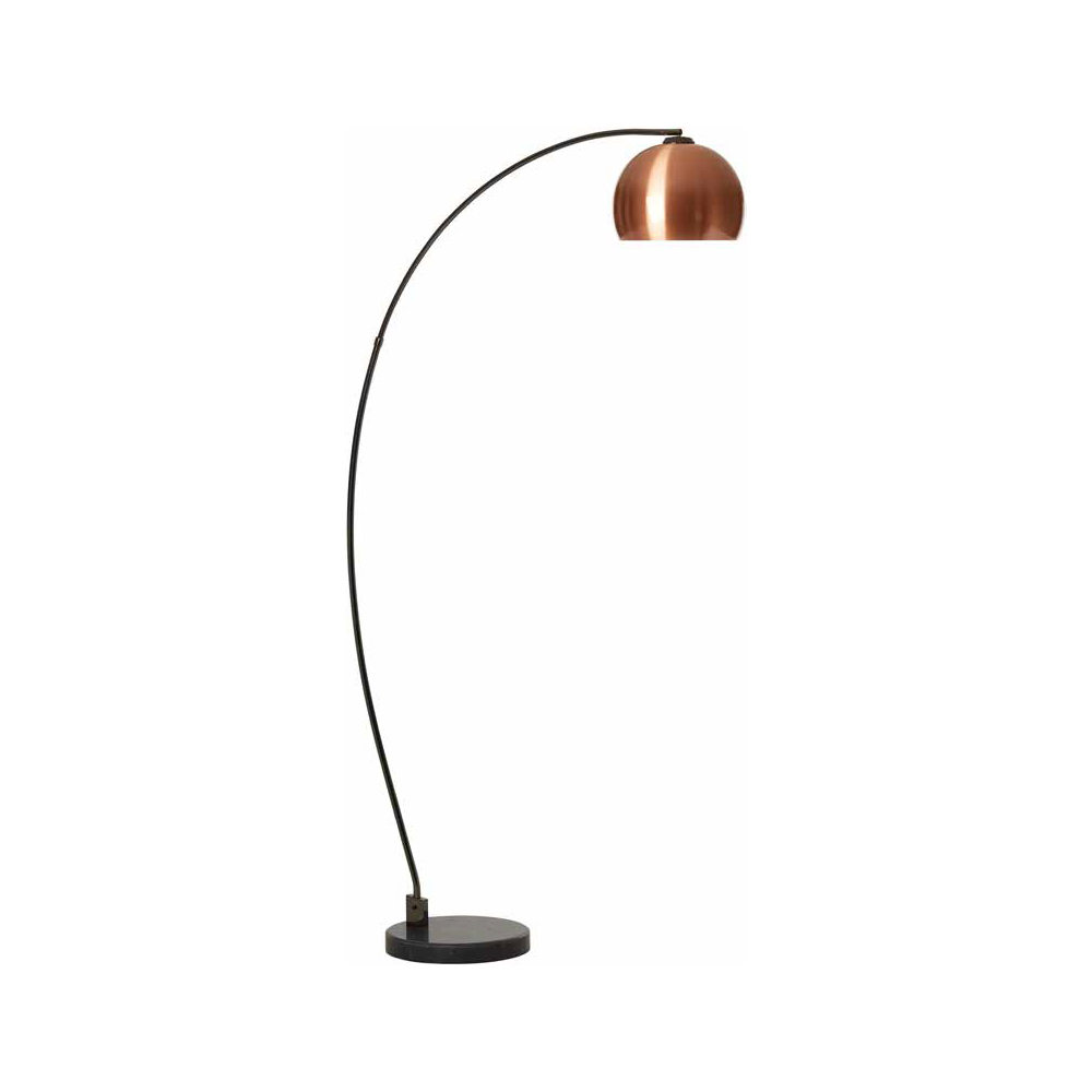 Danalight Lounge Retro Floor Lamp Copper