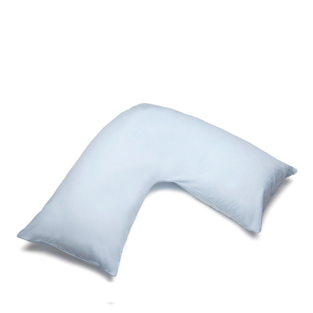 V Shape Orthopaedic Pillowcase Duckegg
