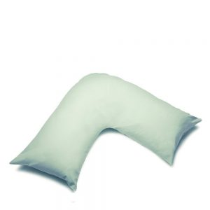 V Shape Orthopaedic Pillowcase Apple