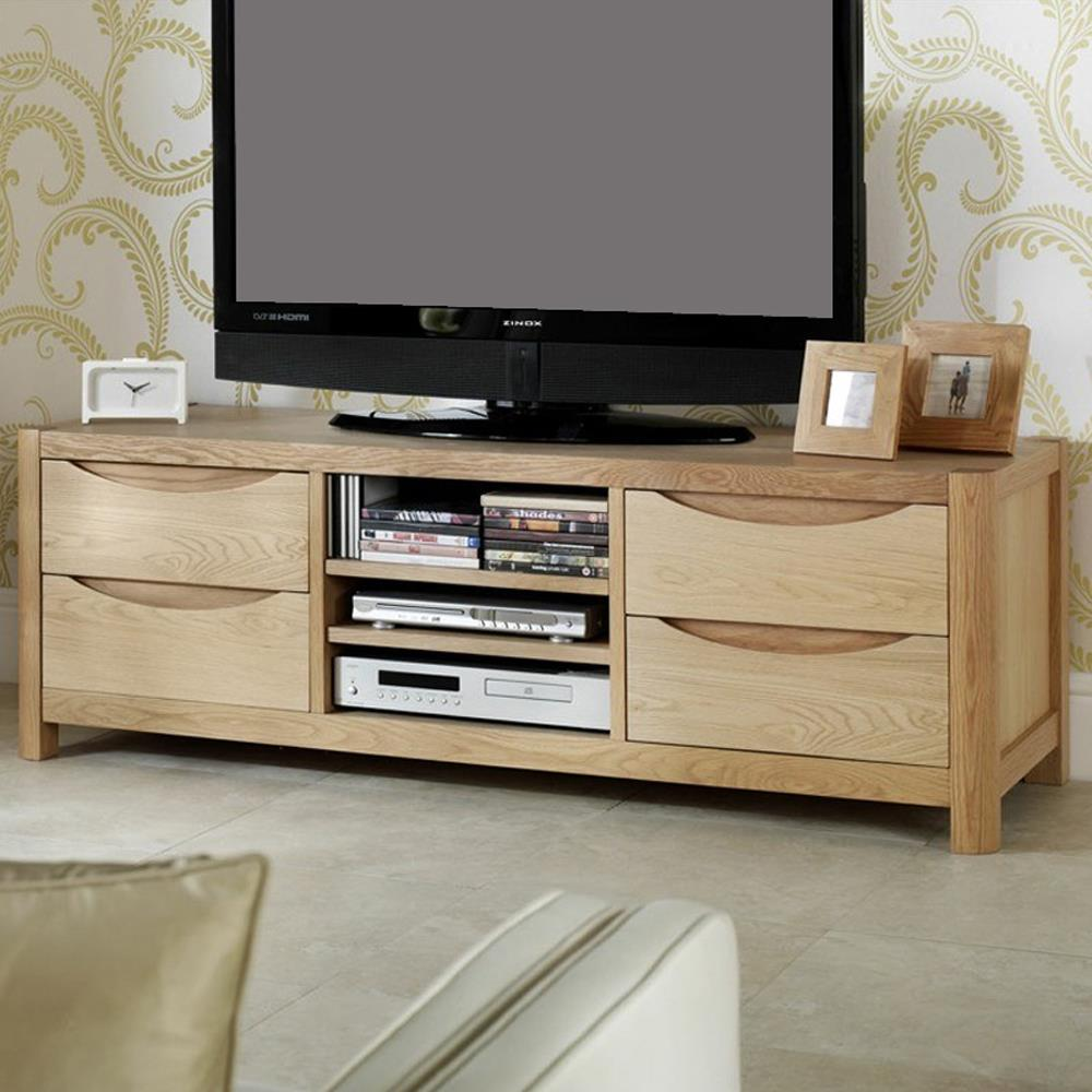 Dovedale TV Unit With 4 Drawers