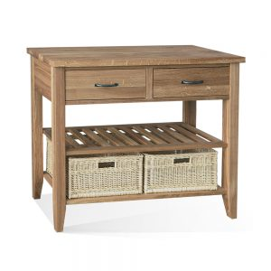 Wykeham Lacquered Double Basket Table