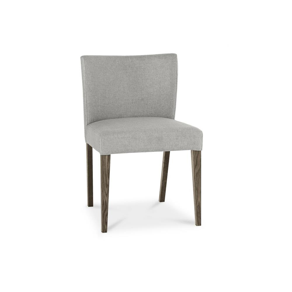 Thornbury Dark Oak Low Back Upholstered Dining Chair