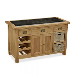 Rural Charm Kitchen Island