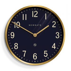 Newgate Mr Edwards Clock Brass
