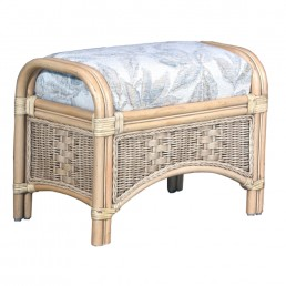 Daro Worcester Cane Footstool in Light Natural Wash