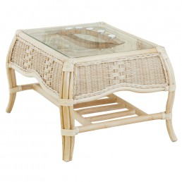 Daro Worcester Cane Coffee Table in Light Natural Wash