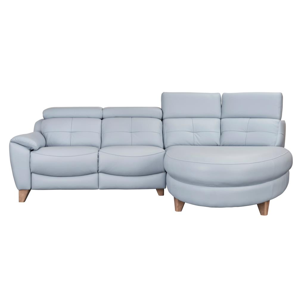 Parker Knoll Evolution 1702 RHF Chaise End Sofa (Como Leather)
