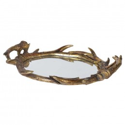 Antler Mirrored Tray