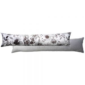 Royal Floral Draught Excluder Grey
