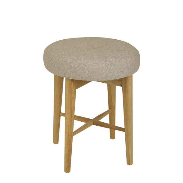 Andover Bedroom Stool With Fabric Seat