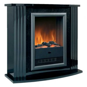 Dimplex Mozart Black Optiflame Electric Suite