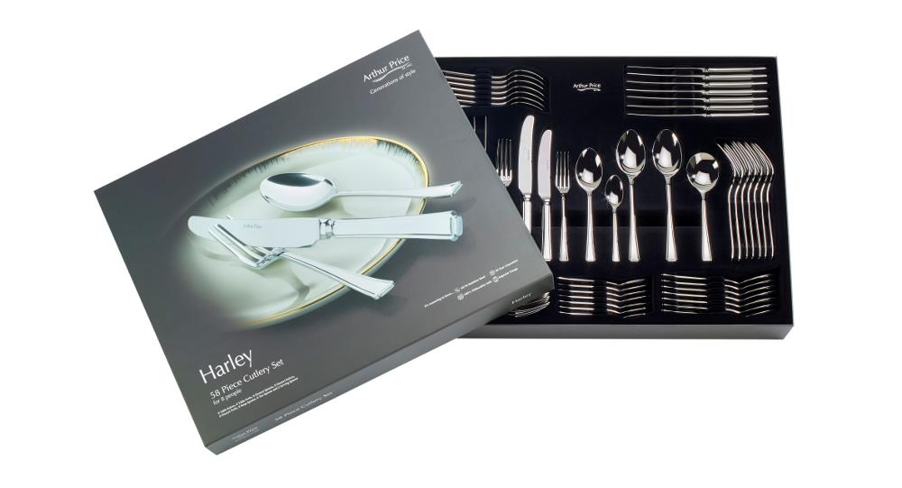 Harley 58 Piece Cutlery Set
