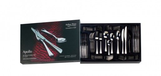 Arthur Price Apollo 44 Piece Cutlery Set