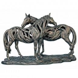 'Alliance' Horse Bronze Figurine