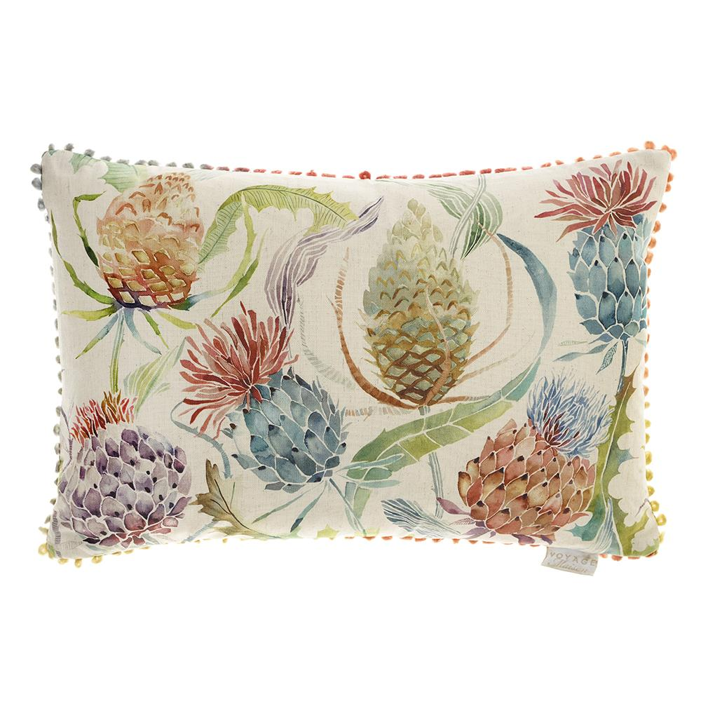 Voyage Meadwell Pomegranate Cushion 40x60cm