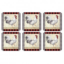 Pimpernel Country Touch Coasters Set of 6